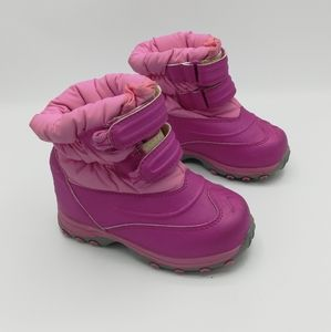 LL Bean Tread Waterproof Insulated Snow Boots Pink